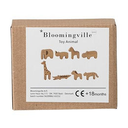 Bloomingville Set of 8 Wooden Animals - Scandibørn