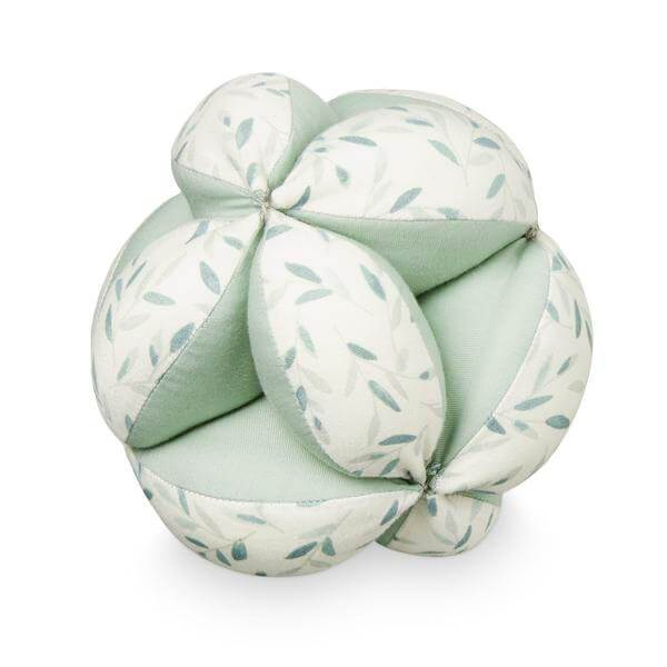 Cam Cam Baby Ball in Green Leaves