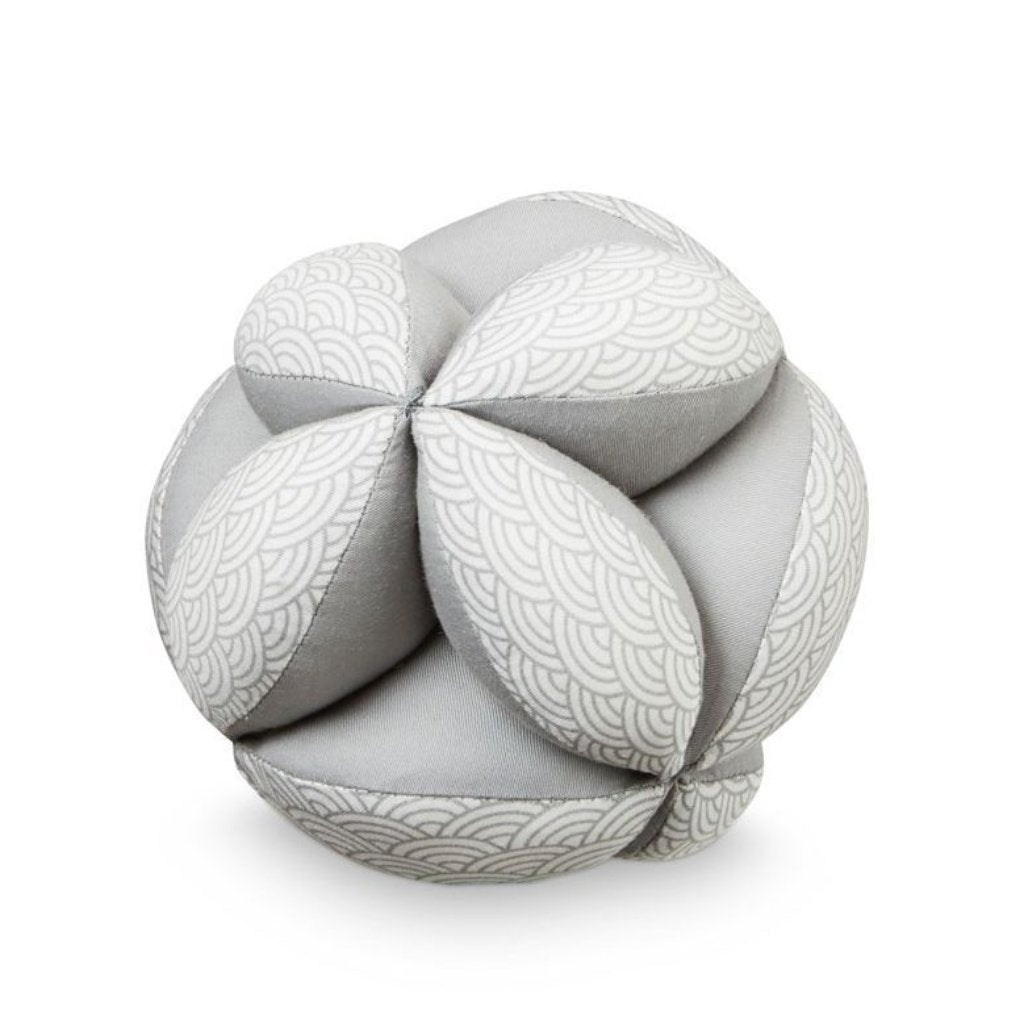 Cam Cam Baby Ball in Grey Wave