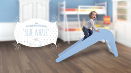 Children's slide - Blue Whale - Scandibørn