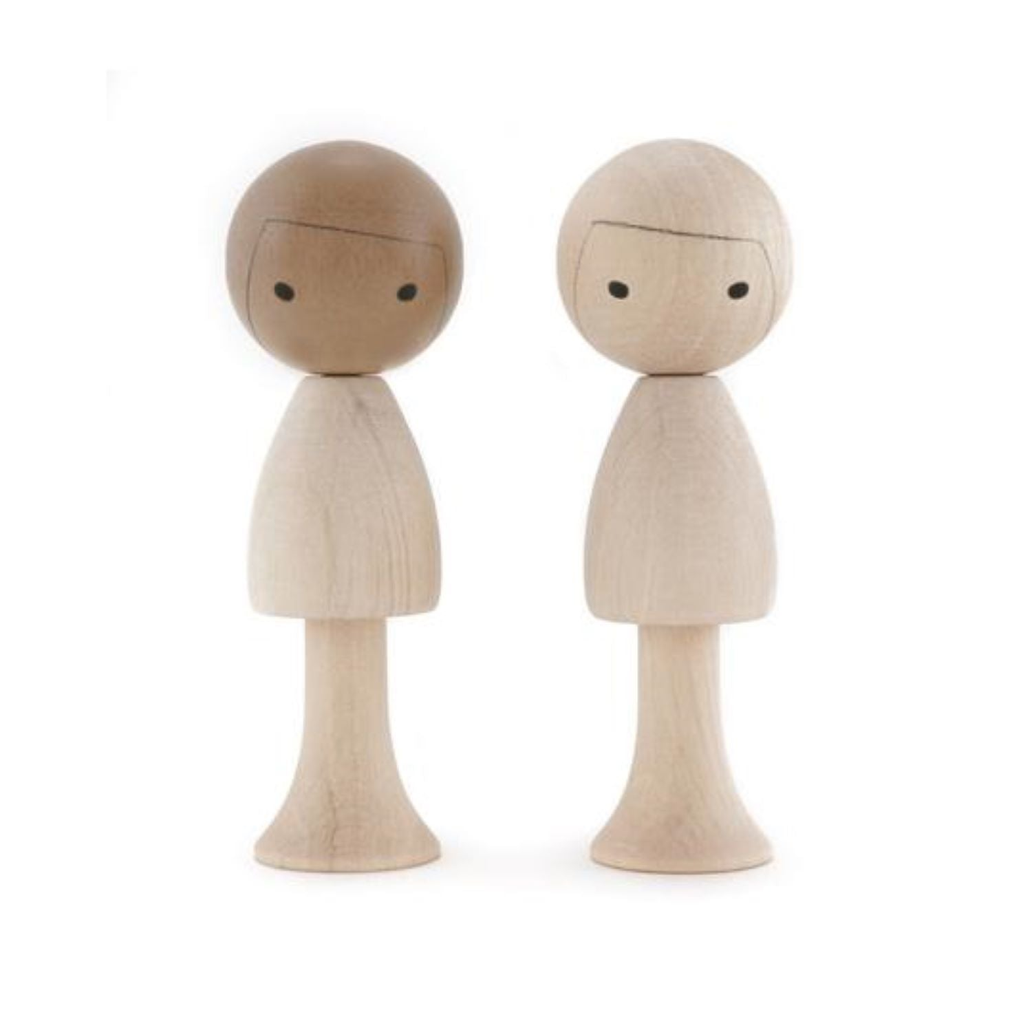 Clicques - DIY Boys Asia - Wooden Figurines