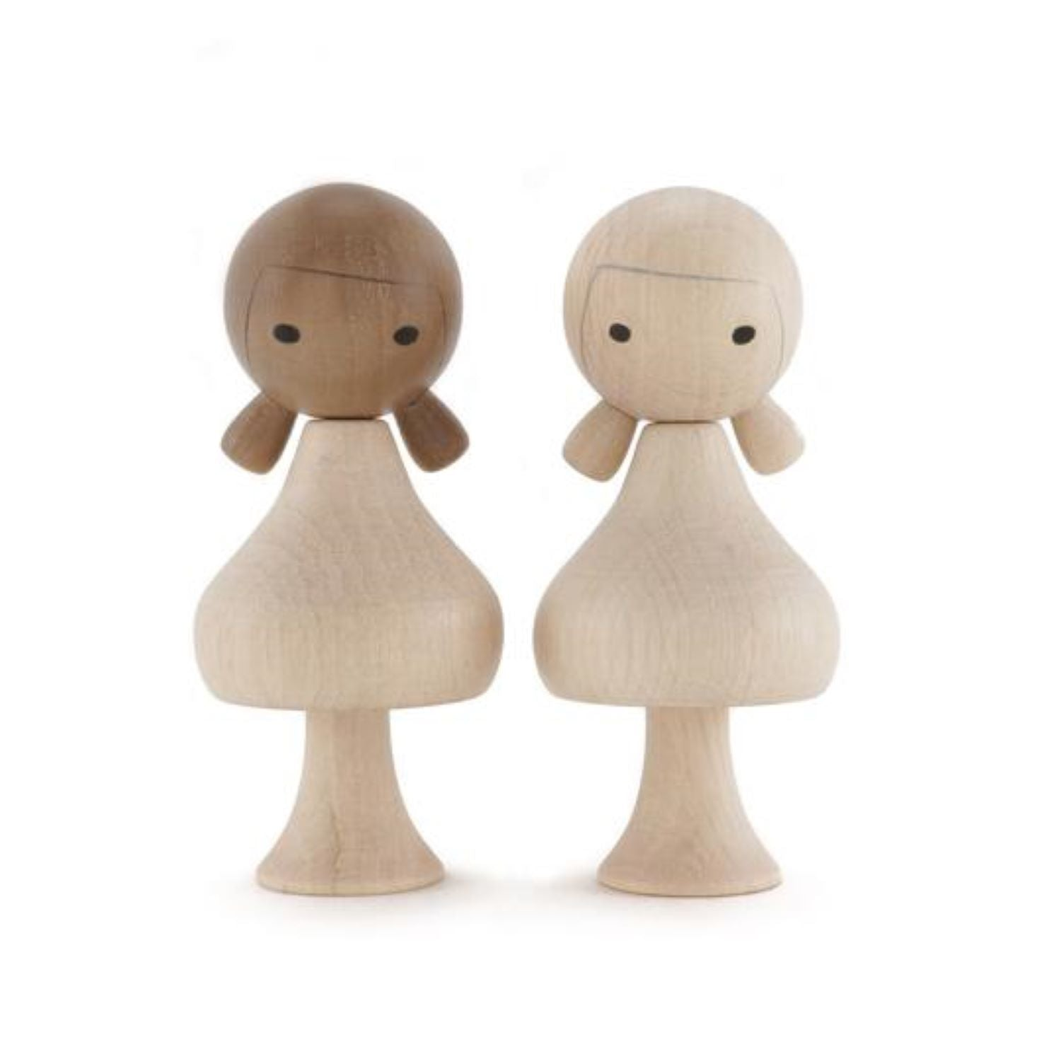 Clicques - DIY Girls Asia Wooden Figurines