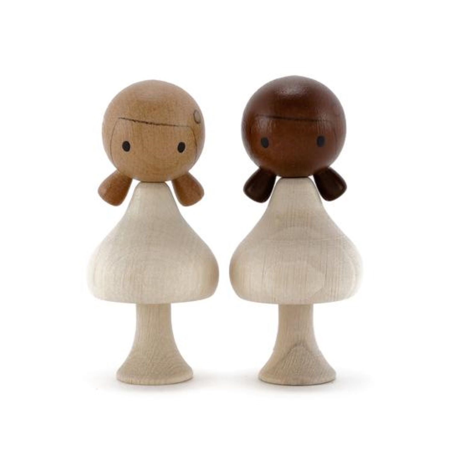 Clicques - DIY Girls Diverse Wooden Figurines