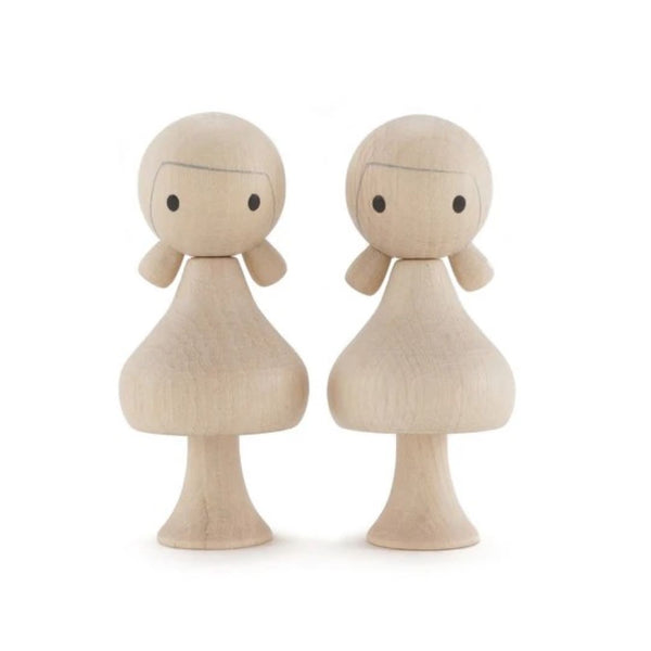 Clicques - DIY Girls Wooden Figurines - Scandibørn