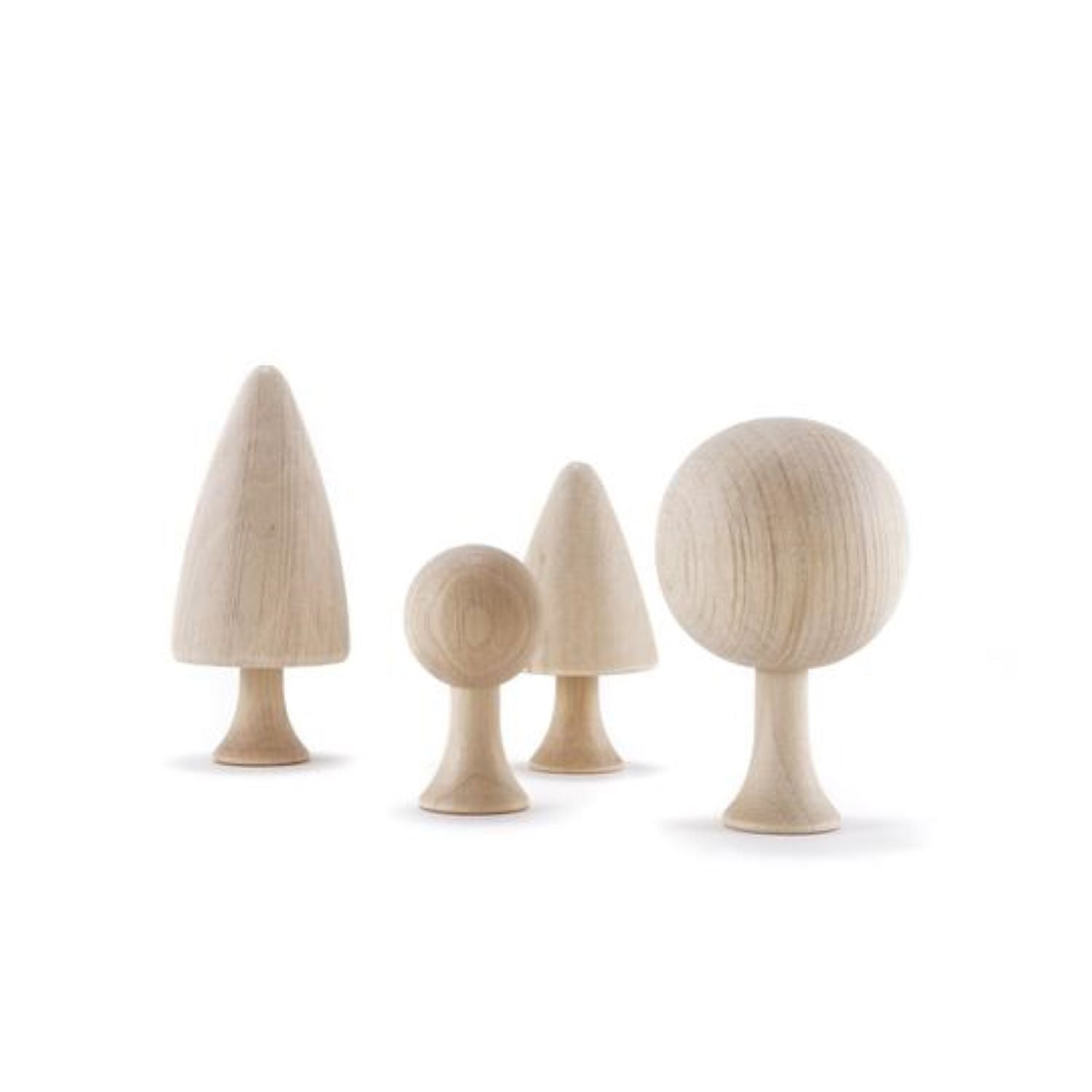 Clicques - DIY Trees Wooden Set
