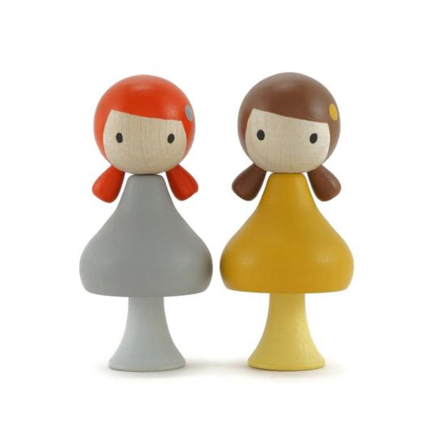 Clicques - Emma and June Wooden Figurines