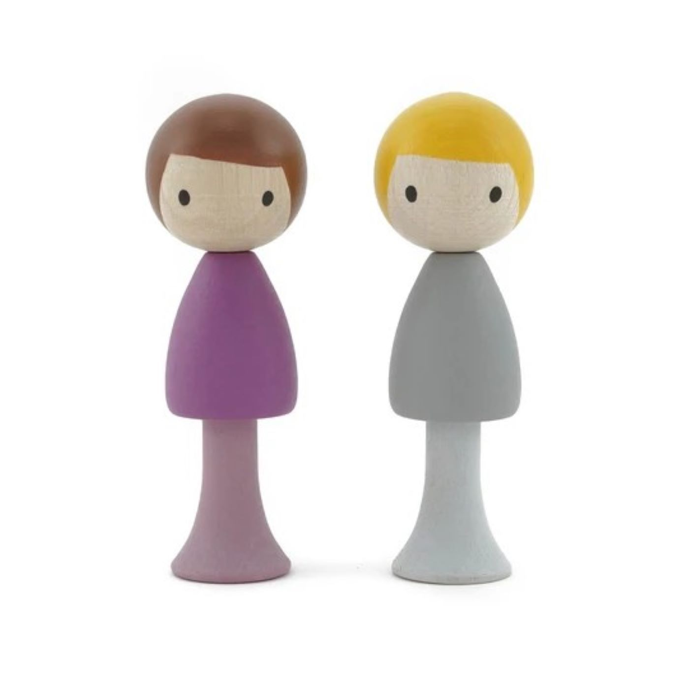 Clicques - Luca and Tom Wooden Figurines
