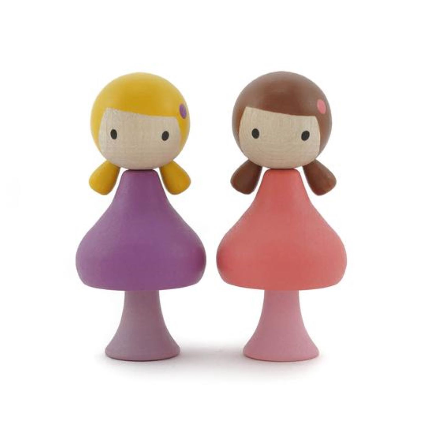 Clicques - Lucy and Maggie Wooden Figurines