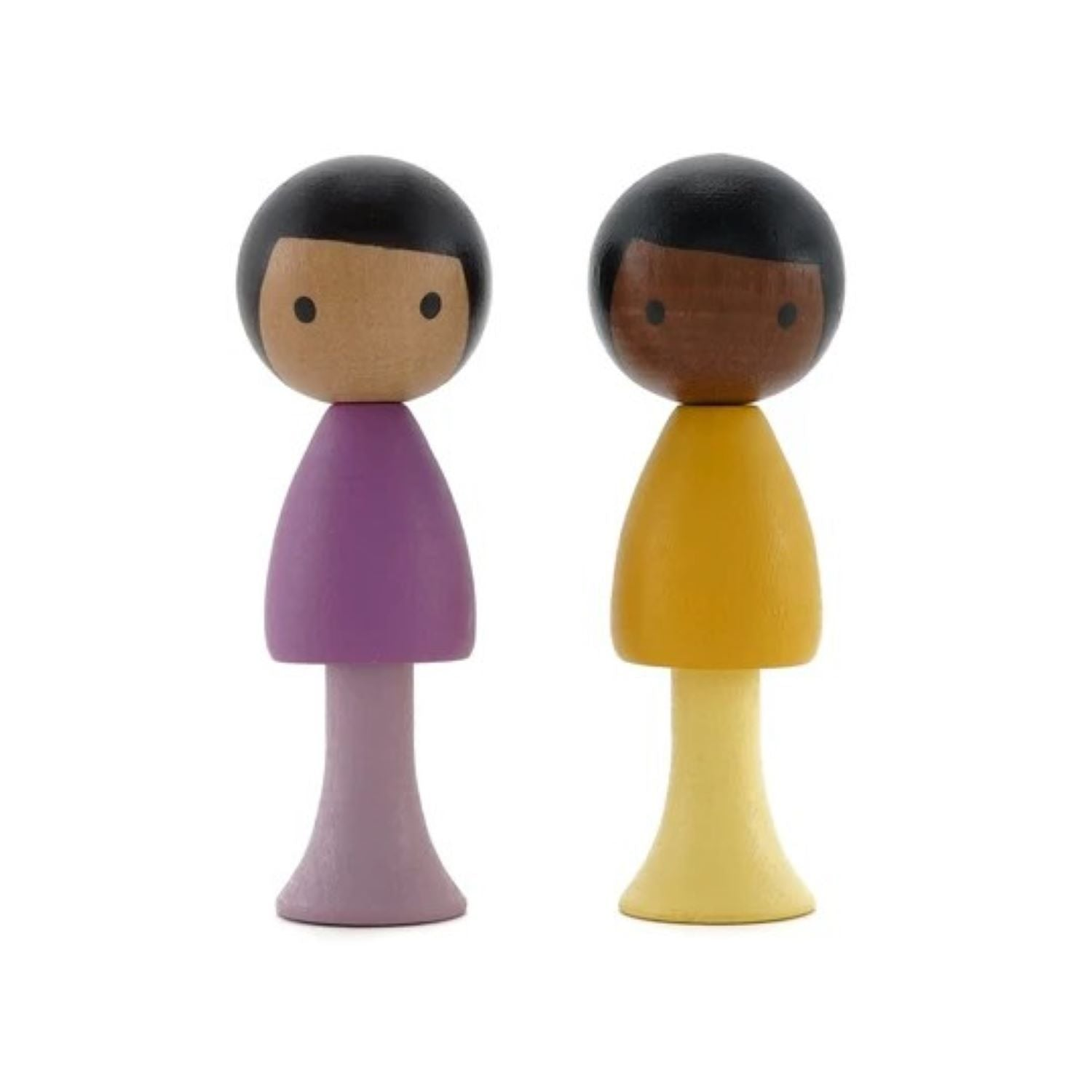 Clicques - Pablo and Leo Wooden Figurines