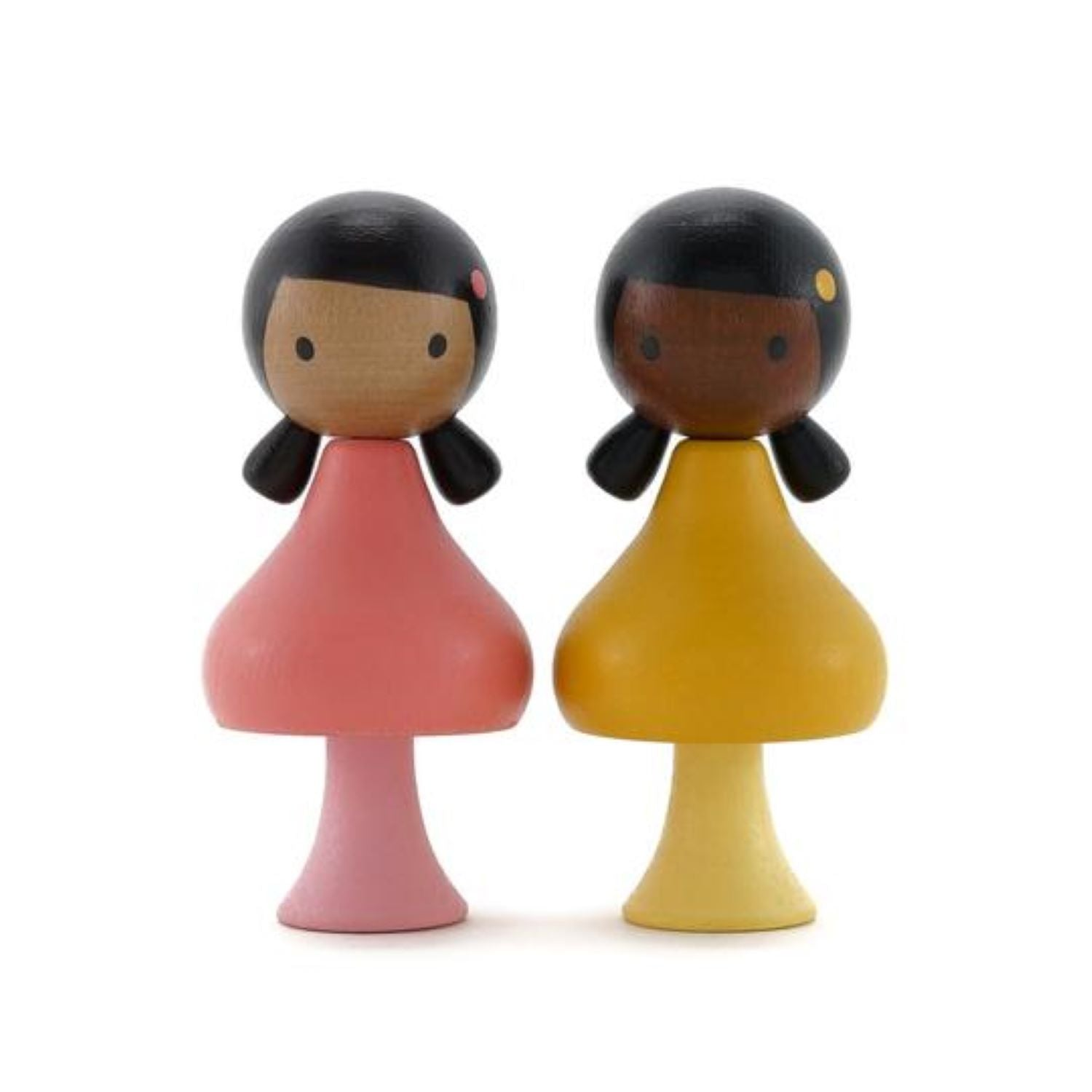 Clicques - Ruby and Coco Wooden Figurines