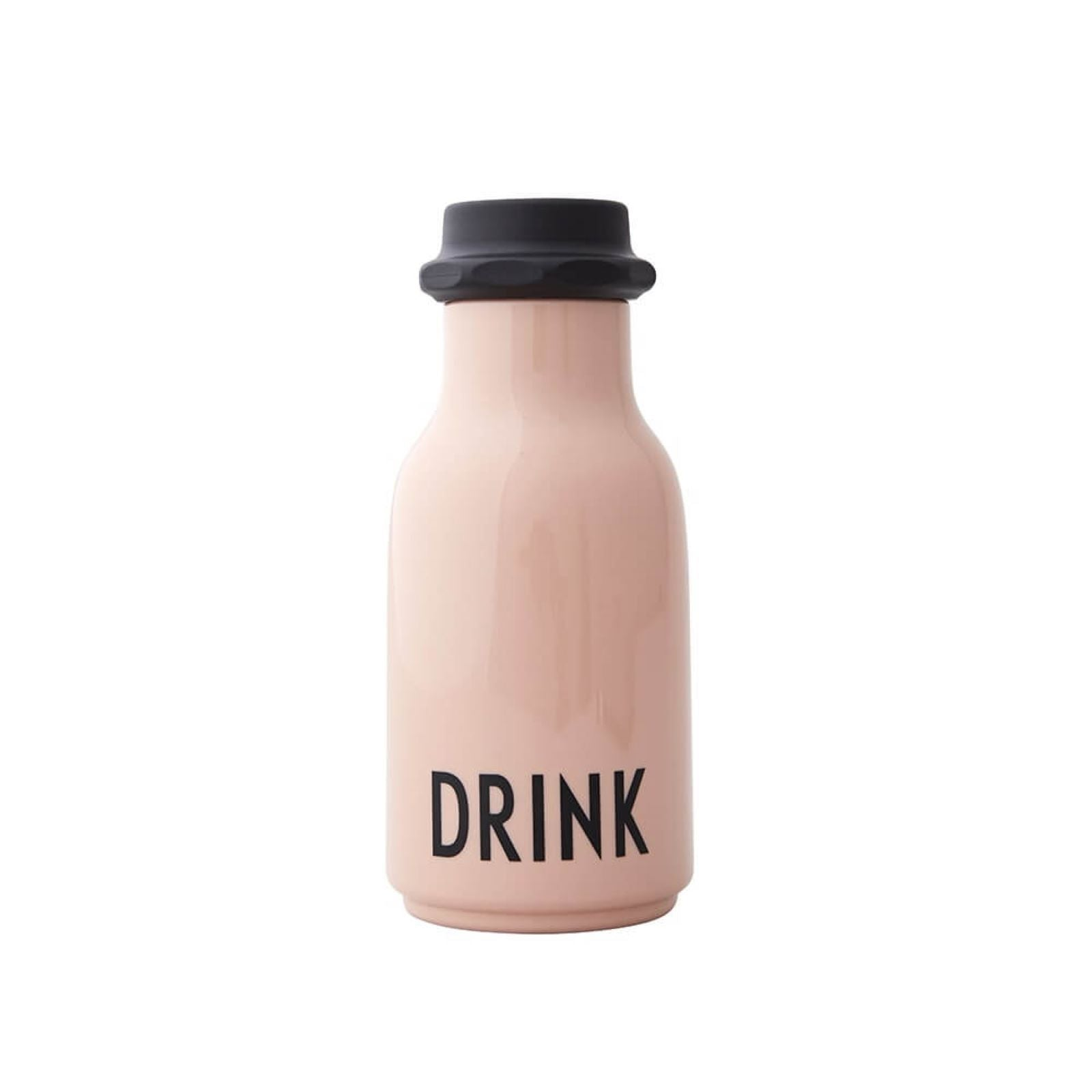 Design Letters - Bag Size Water Bottle in Nude