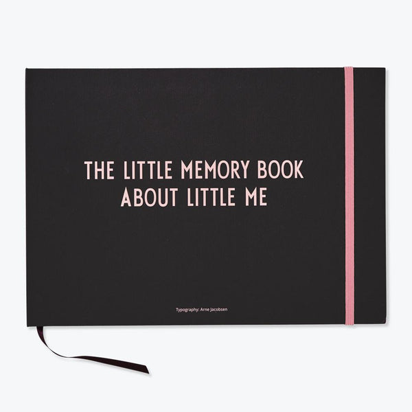 Design Letters -The Little Memory Book About Life - Pink - Scandibørn