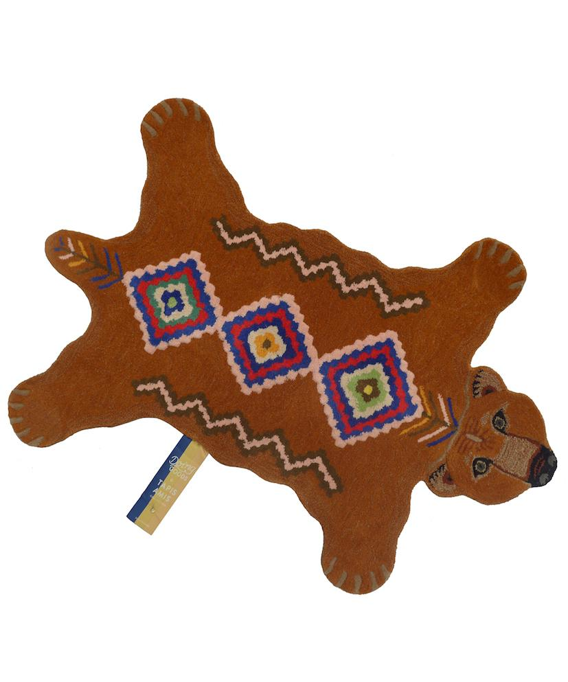 Doing Goods Berber Grizzly Bear Rug - Large