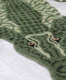 Doing Goods Coolio Crocodile Rug - Scandibørn
