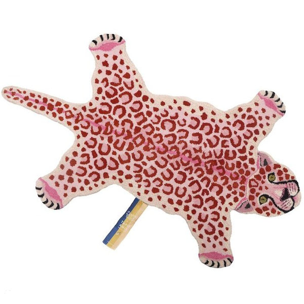 Doing Goods Pinky Leopard Rug - Scandibørn