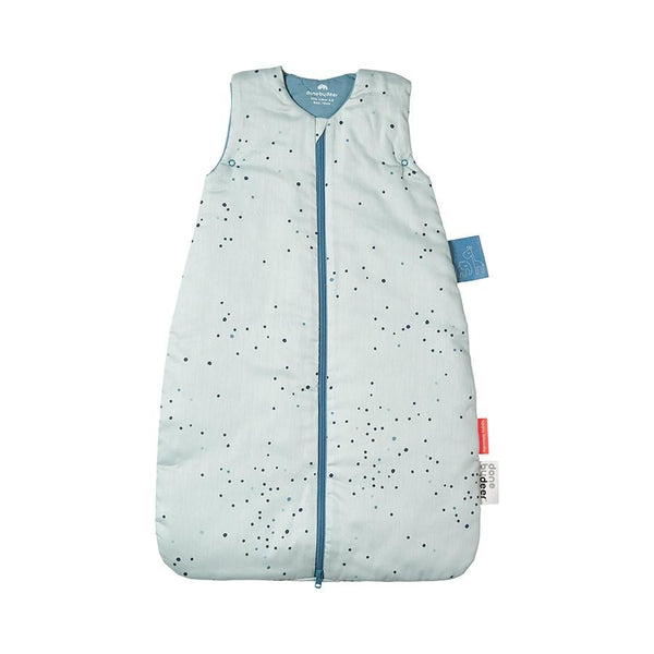 Done By Deer Sleeping Bag in Dreamy Dots Blue (Winter) - Scandibørn