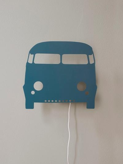 Ferm Living Car Lamp - Petrol - Scandibørn