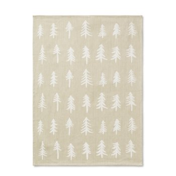 Ferm Living - Christmas Tea Towel in Sand - Scandibørn