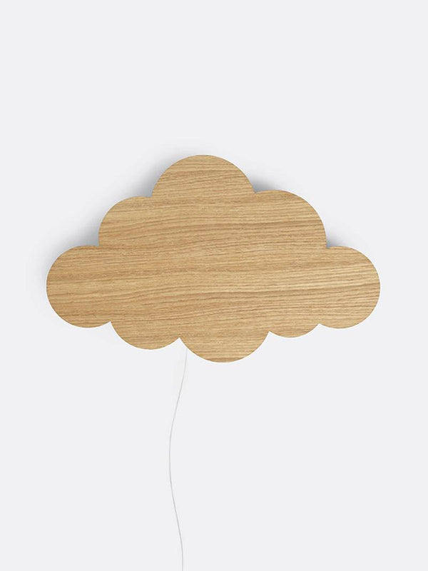 Ferm Living Cloud Lamp - Oiled Oak - Scandibørn