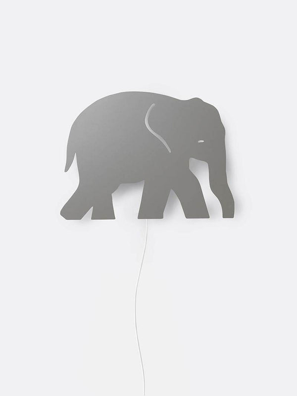 Ferm Living Elephant Lamp - Grey - Scandibørn