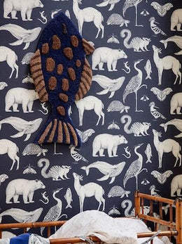 Ferm Living Fish Tufted Wall/Floor Rug Deco - Scandibørn