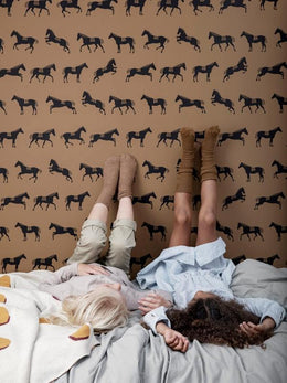 Ferm Living Horse Wallpaper - Scandibørn