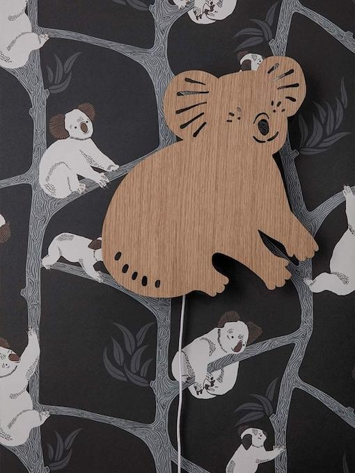 Ferm Living Koala Lamp - Oiled Oak - Scandibørn