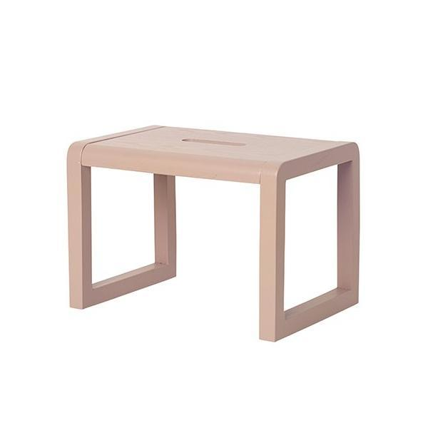 Ferm Living Little Architect Stool in Rose - Scandibørn