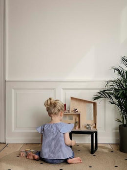 Ferm Living Miniature Funkis Doll's House Small - Scandibørn