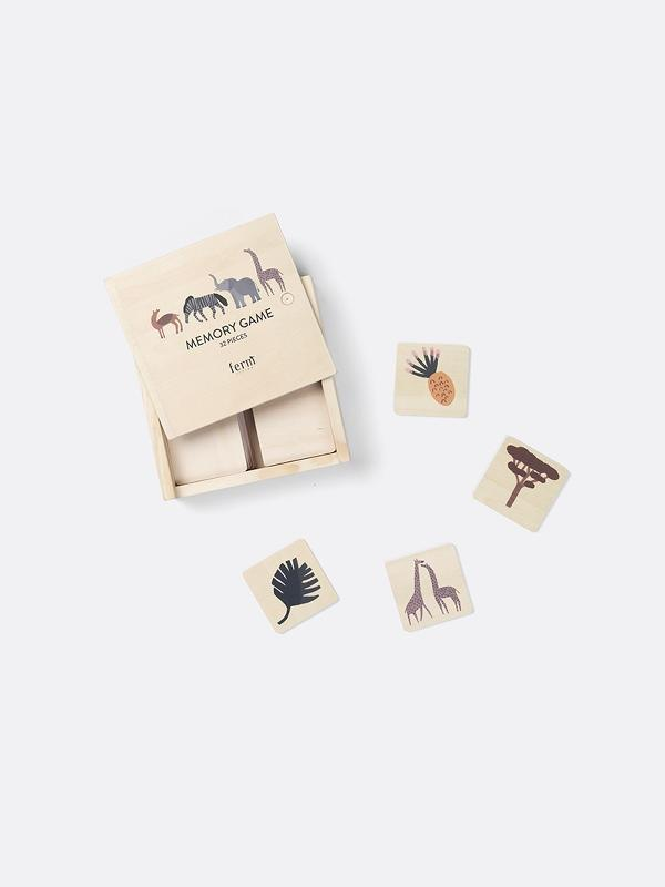 Ferm Living Safari Memory Game - Scandibørn