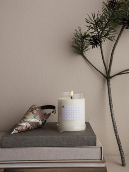Ferm Living - Scented Candle Christmas Calendar in White - Scandibørn