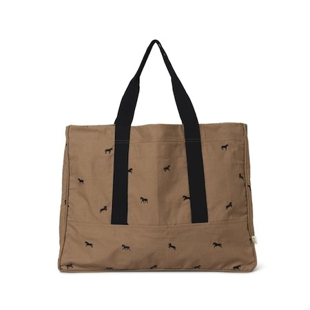 Ferm Living Weekend Bag - Horse Embroidery - Scandibørn