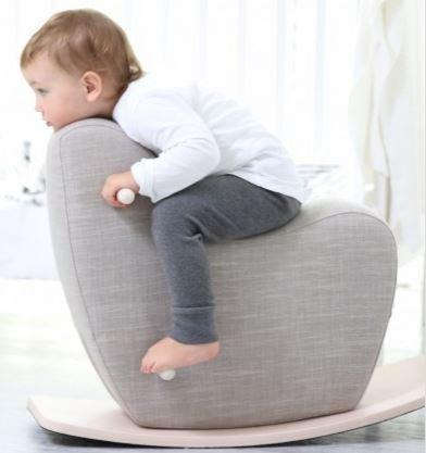 Googy Toddler Rocking Horse - Grey - Scandibørn