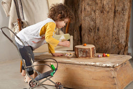 Grapat Wooden Play Set - Baby Nin® Figures - Scandibørn