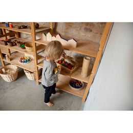 Grapat Wooden Play Set - Round - Scandibørn