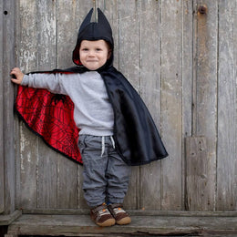 Great Pretenders Baby Spider / Bat Cape Reversible (1-2 years) - Scandibørn