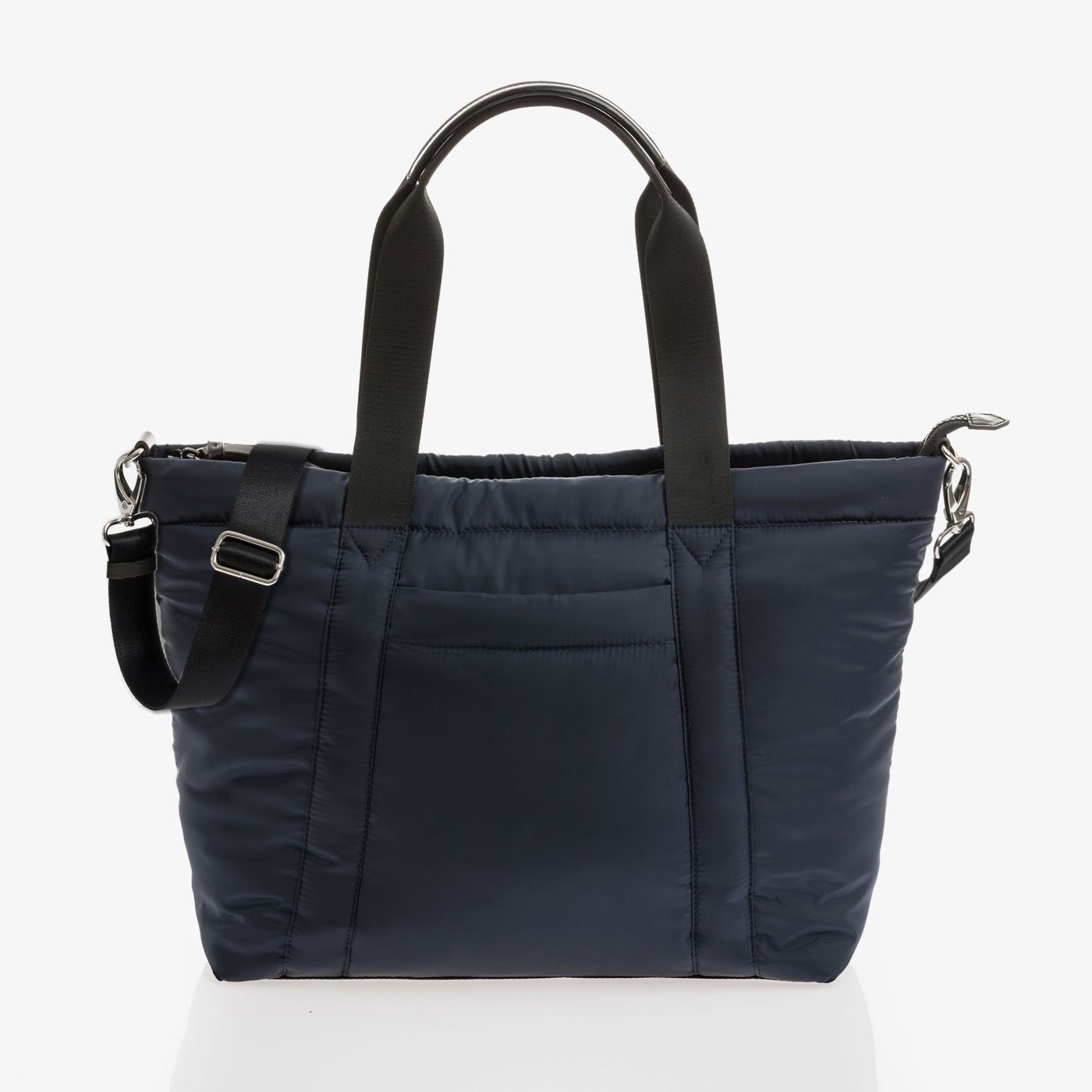 Jem and Bea Romy Puffer Tote in Navy