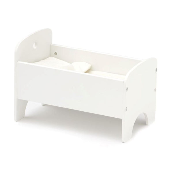 Kids Concept Doll's Bed in White - Scandibørn
