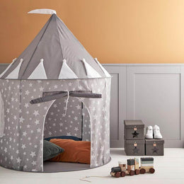 Kids Concept Play Tent in Star Grey - Scandibørn