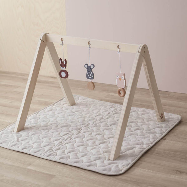 Kids Concept - Scandi baby gym hanging toys - Scandibørn