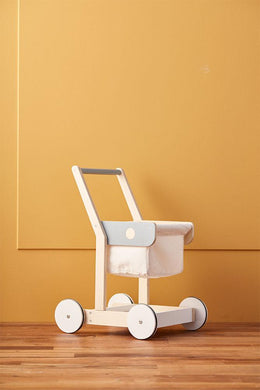 Kids Concept - Shopping Cart - Scandibørn