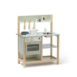 Kids Concept Wooden Kitchen Bistro in Green - Scandibørn