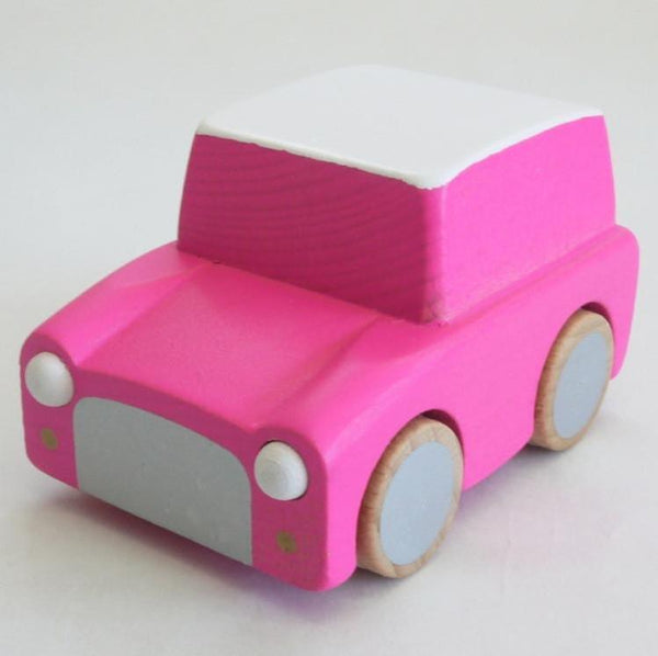 Kiko & GG Karuma Wind Up Car - Pink - Scandibørn