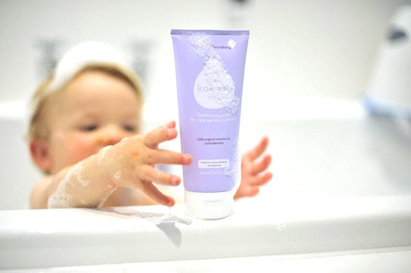 Kokoso Baby Hair and Body Wash - Softly Scented - Scandibørn
