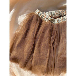 Konges Slojd Ballerina Skirt Deux in Walnut - Scandibørn