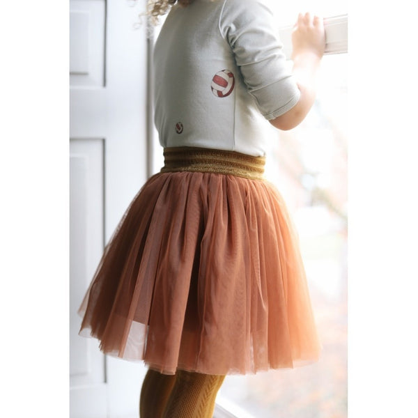 Konges Slojd Ballerina Skirt in Dark Honey - Scandibørn