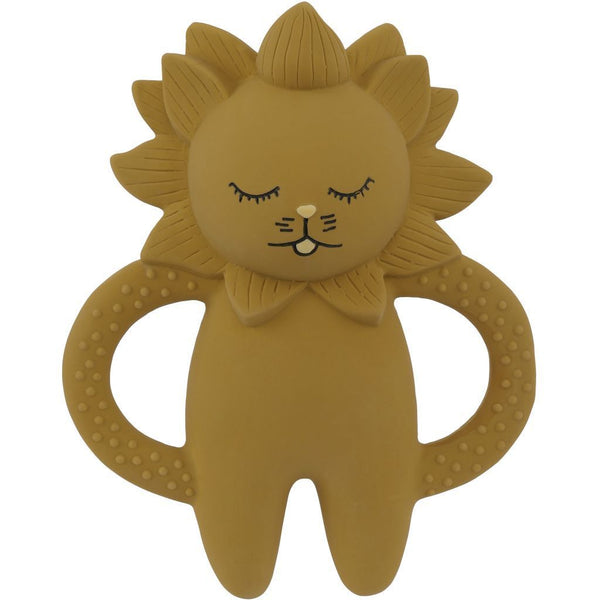 Konges Slojd Teether Lion in Mustard - Scandibørn