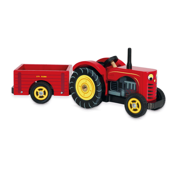 Le Toy Van Berties Tractor - Scandibørn