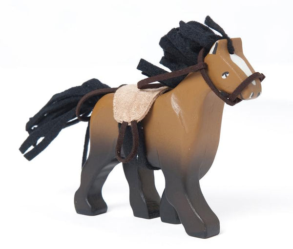 Le Toy Van Budkins Brown Horse - Scandibørn