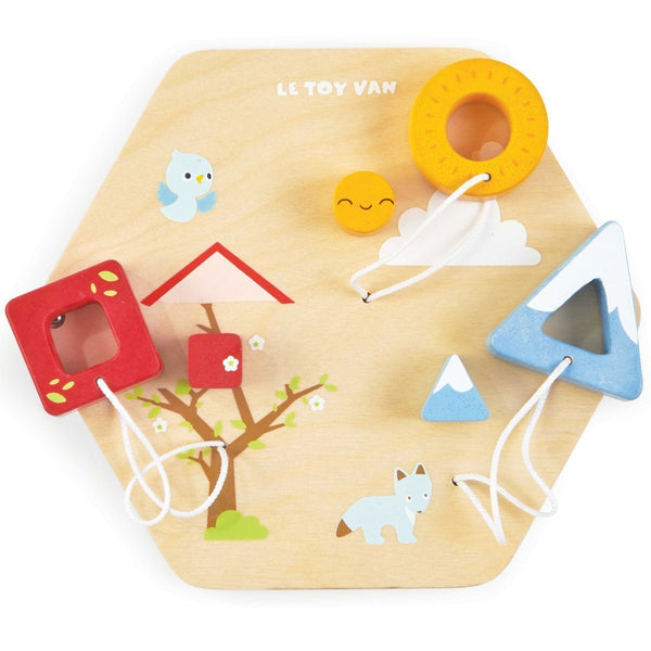 Le Toy Van Shapes Activity Tile - Scandibørn